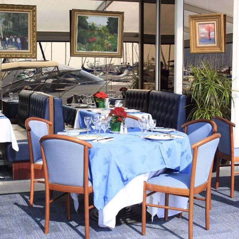 La Voile Bleue - Restaurant Mandelieu la Napoule